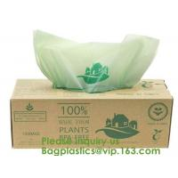China 100% Certified Biodegradable Compost Bags, Food Waste Bags,Food grade compostable coffee bags,Biodegradable Stand Up Cof wholesale