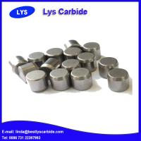 China Cemented carbide buttons & inserts for mining tools P types flat top button wholesale