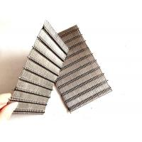 China SS Inflexible Crimped Architectural Woven Mesh For Interior Decoration wholesale
