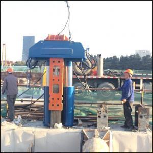 China BEIYI hydraulic pile extractor static pressure pile pulling machine wholesale