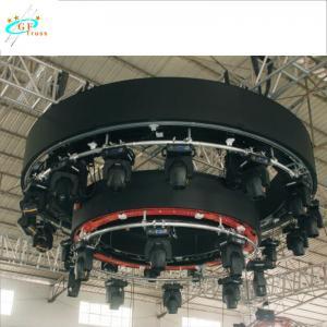 China Mini Rotary Circle Aluminum Lighting Truss 116*116*40CM wholesale