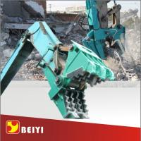 China Beiyi BYC300 Concrete demolition tools machinal pulverizer small rock crusher excavator pulverizer factories wholesale