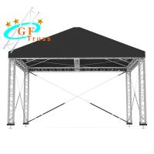 China PVC Aluminum Party Tent Concert Aluminum Truss Roof Systems wholesale