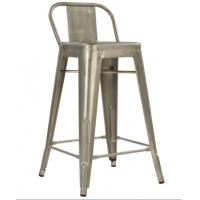 Quality Replica Xavier Pauchard Bar Iron Metal Tolix Chairs 65cm With Back for sale