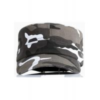 Camouflage Fabric Cool Flat Peak Caps Brim Curve Adjustable Size Personalized