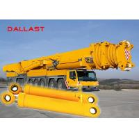 Buy cheap Chromed Hydraulic Hoist Cylinder , Medium Press Double Ended Hydraulic Ram from wholesalers