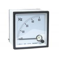 China High Precision Panel Analogue Meter , Frequency Meter With Glass Window on sale