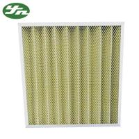 Buy cheap Folded Plate Pocket Air Filter F8 Medium Efficiency For Primary Filtration from wholesalers