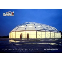Buy cheap High quality alumium frame and PVC cover Outdoor Huge Clear Span Luxury Polygon from wholesalers