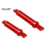 Buy cheap Weld on Hydraulic Cylinder Mounts Double Acting Agricultural Dump Truck from wholesalers