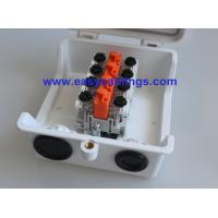 Quality Plastic Full Sealed Network Distribution Box with 4pair Subscribe Connector STB Module for Telecom Outside Plant for sale