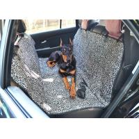 China Leather Seats Removable Dog Car Seat Covers Waterproof Leopard Print wholesale