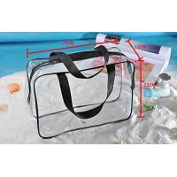 China Clear PVC Bag For Men And Women , Light Weight PVC Designer Bags ROHS Approved wholesale