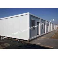 China Classroom / Office Units Structural Steel Construction Modular Container House Expansion Project wholesale
