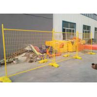 Buy cheap 50mm*200mm mesh apertureTemporary Fencing Panels 42 microns hdg plus cold zinc from wholesalers