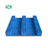 China HDPE Reinforced Plastic Pallets 3 Skid Runners Recycled Sturdy Construction wholesale