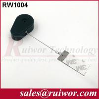 China RUIWOR RW1004 Drop-shaped Retractable Tether with Gluey Dog Tag End wholesale