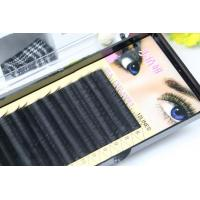 China Premium Long Lasting Eyelash Individual Extensions For Beauty Salon 10mm In Three Rows wholesale