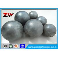 Quality Industrial High Performance forged grinding steel ball , AISI Standard and ISO9001 for sale
