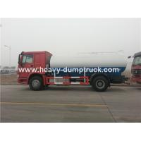 Quality Sinotruk Heavy Duty 10cbm Water Delivery Trucks , WD615.87290 Euro II Emission Standard wholesale