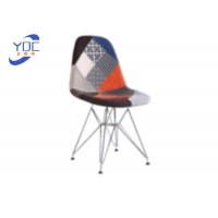 China Leisure Hotel Northern Europe Scattered Wooden Dining Chairs Technology Cloth wholesale