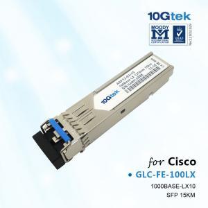 China Cisco GLC-FE-100LX, 100BASE-LX10 SFP module for 100-Mb ports, SMF, 1310nm on sale