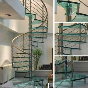 China Chinese WroughtIiron Spiral Stairs/ Outdoor Spiral Staircase Prices / Used Spiral Staircase wholesale