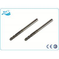 China 4mm - 25 mm Shank Diameter Solid Carbide End Mill , 2 - 4 Flute End Mill wholesale