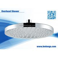 Quality Water Efficient Round Bathroom Overhead Shower Head 20cm With Soft Nozzles for sale