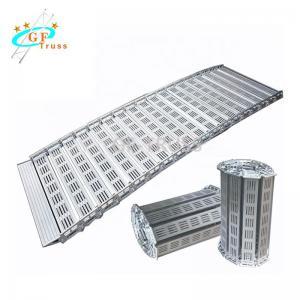 China Inclined Flat Aluminum Folding Truss Board Portable Loading Entrucking wholesale