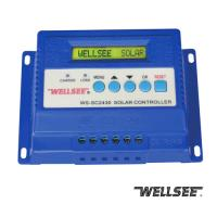 Quality WELLSEE solar charge regulator WS-SC2430 30A,three stage charge controller for sale