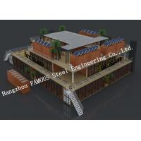China Customised Modular Prefab Container House For Shopping Center Or Coffee Bar wholesale