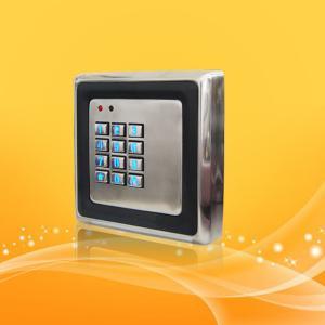 Buy cheap Waterproof Password RFID Door Access Card Reader With EM Lock And Door Sensor from wholesalers