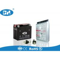 China Dry Charged 12v Motorbike Battery , 12v 5ah Motorcycle Battery With Acid Pack wholesale