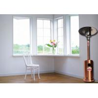 China Outdoor Meeting Mushroom Patio Heater With Round Base Side Mounted Wheels wholesale