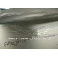 China Gold Wall Embossed Stainless Steel Surface Finish For Decorative Wall Panel wholesale