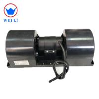 China Single Speed Bus Centrifugal Air Blower , DC Brushed Evaporator Blower Motor  wholesale