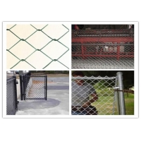 China Residential Stainless Steel Non Climbable Chain Link Fence wholesale
