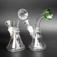 China 14mm Joint Mini Glass Water Pipe Scientific Glass Bong For Smoking wholesale
