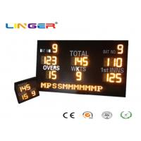 China Customized Design LED Cricket Scoreboard With Mini Repeater 1200mm*2000mm*100mm wholesale