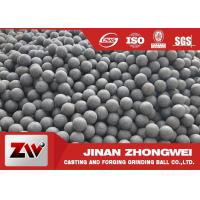 Quality Chile Copper Mining Forged Grinding Ball  High Hardness Grinding Media Balls wholesale