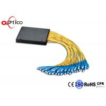 China G657A1 1x32 PLC Fiber Splitter ABS Module 2.0mm SC PC Optical Cord Splitter wholesale