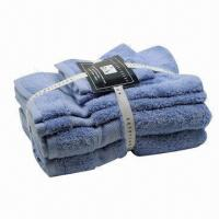 China Dobby Cotton Towel Set, Ultra-Soft, Very Good Absorbent wholesale