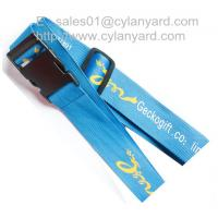 China Polyester travel bag belt for secure packing, secure travel luggage straps, on sale