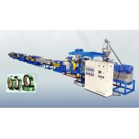 Quality 100% Recycled PET Bottle Flake Strapping Band Machine 0.5 - 1.2mm Thickness for sale