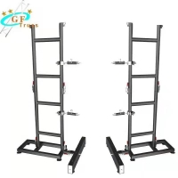 China 50*3mm Ground Stand Support LED Screen Truss For LED Cabinet wholesale