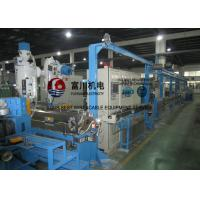 Buy cheap Fuchuan Low Smoking Plastic Extruder Machine With Screw Dia 70mm For Wire Dia 1.5-12mm from wholesalers