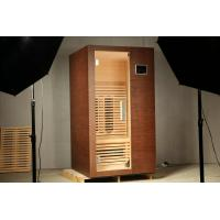 China 1 Person Far Infrared Sauna Room, 110v / 220v Ceramic Heater Sauna wholesale