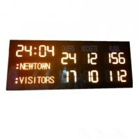 China 6'' 150mm Digital Cricket Scoreboard Iron / Steel / Aluminum Frame Material wholesale