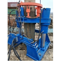 BEIYI hydraulic pile extractor pile pulling machine for all round piles